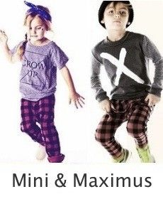 Mini & Maximus-kinderkleding
